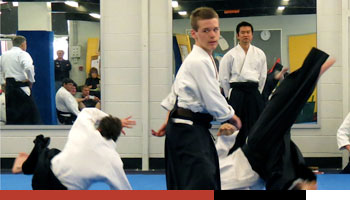 student in griffith aikido