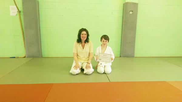 aikido student
