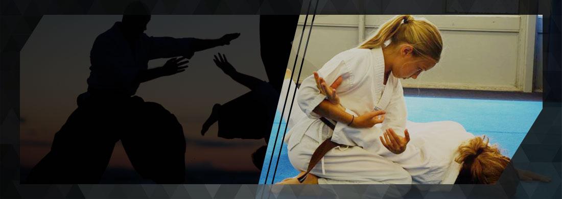 kids learning aikido