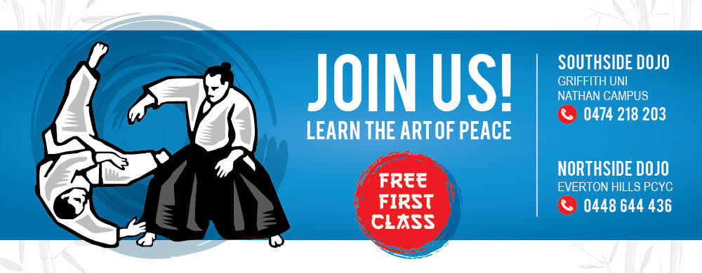 Griffith Aikido Free Class slider